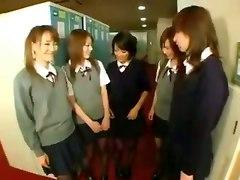 Asian Schoolgirl Pussy Buffet