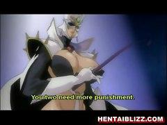Bondage Hentai Girls Gets Punishment