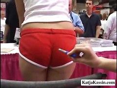 See Katja Kassin At An Adult Show