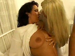Cum Kiss For Two Lesbians