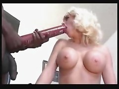 Girl Rides A Lava Lamp While 2 Guys Cum On Her Face