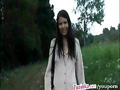 Zuzinka Remote Controlled Pussy Outdoor Xlx