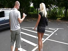 Parkplatz Blowjob