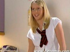 Horny Milf Seduces And Pleasures Innocent Student