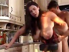 Big Boobs In The Kitchen