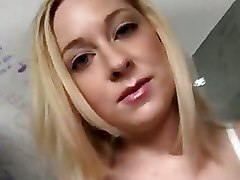 Blonde Sucking Black Gloryhole Cock