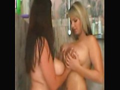 Beautiful Lesbians In The Shower