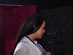 Bbq Nurse Cherokee Cures Her Patient