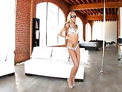 Cool Blonde Oiled Up