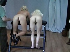 Blonde Spankings
