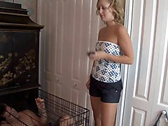 Cuckold In Cage