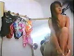 Hidden Cam   Asian Cutie In Changing Room 2