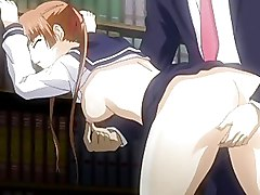 Cute Schoolgirl Hentai Anime Virgin Railed Deep