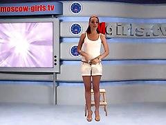 Alena Russian Moskow Girl Tv