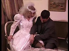 Wedding Night Gangbang - Bukkake The Bride