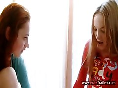 First Lesbian Love And Pussy Fingering