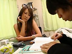 Big Breasts Gal Covered With Tutor