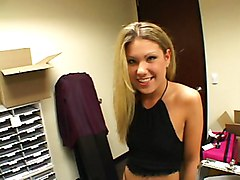 Fuck A Blond Beautiful Teen In Office