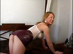 Blond Teen Strip