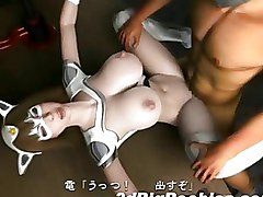 Cum Filled 3d Sci Fi Bitch