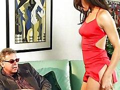 Black Hottie In Threesome Action