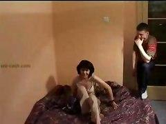 Boys Filmed Porno With His Mom