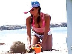 Beach Babe Needs A Dick