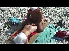 Hidcams Rus Beach Couple Massage 13 - Nv
