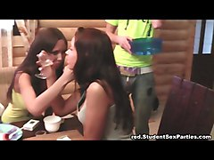 Log Cabin Student Sex Party