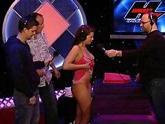 Older Guy Cleans Girl&039;s Ass On Tv