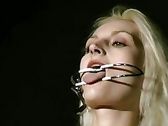 Intense Needle Torture Of Blonde Slave