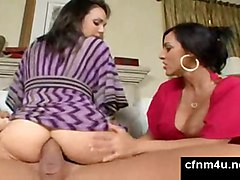 Cumshot On Ass After Cfnm Anal