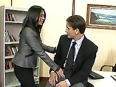 Couple Cheating On Their Spouses  While At Work