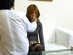 Asian Bitch Is Mesmerized And Used By The Doctor