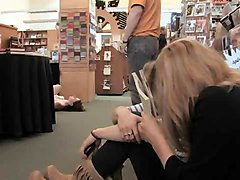 Abused In A Bookstore