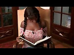 Ebony Teen Student   Old Teacher