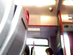 Bus Flash And Jerkoff
