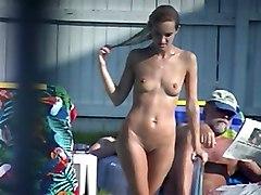 Nude Pool - Skinny Blonde