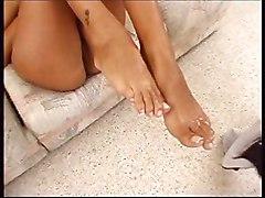 Long Slender Feet