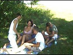 Bissex Teen 5 Sex Party Outdoor