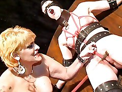 Lesbian Female Tit Whipping And Girlie Cruelty