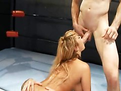 Painful Double Anal