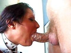 Slut Gets Big Cock In Her Mouth