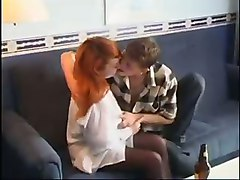 Russian Amateur Milf Have Fun With Younger Boy