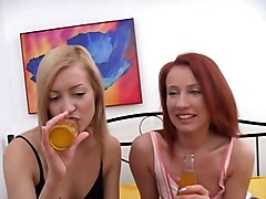 3 Young Girls Have Fun With Each Other