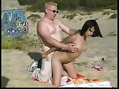 Decibelle Fucked On The Beach
