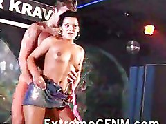 Wild Party Girls Suck Cock At A Night Club