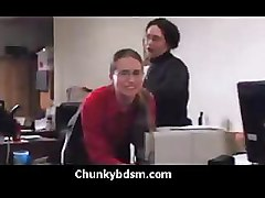 Group Office Spanking