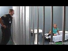 Schoolgirl Fucked In Jail