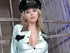 Uniform Sluts Masturbating In Cops Uniforms